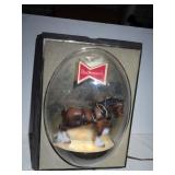 Budweiser Famous Clydesdale Horse Light