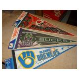 Pennants & Brewers Ticket Picture