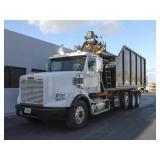 2012 FREIGHTLINER CORONADO SD Grapple Truck