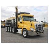 2011 FREIGHTLINER CASCADIA Quad Axle Steel Dump T,
