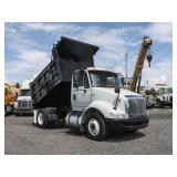 2010 INTERNATIONAL 8600 S/A Steel Dump Truck