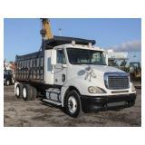 2009 FREIGHTLINER COLUMBIA T/A Steel Dump Truck