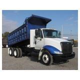 2009 INTERNATIONAL 8600 T/A Steel Dump Truck