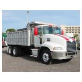 2009 MACK CXU612 T/A Steel Dump Truck