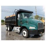 2009 MACK CX612 T/A Steel Dump Truck