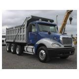 2007 FREIGHTLINER Columbia Tri-Axle Steel Dump Trk
