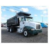 2007 INTERNATIONAL 9200I T/A Steel Dump Truck