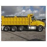 2011 INTERNATIONAL PRO-STAR Tri-Axle Steel Dump Tr