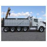 2008 FREIGHTLINER COLUMBIA Quad Axle Steel Dump Tr