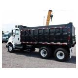 2007 INTERNATIONAL 8600 T/A Steel Dump Truck,