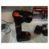 Drillmaster drill & flashlight w/ charger in box