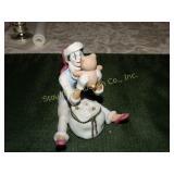 Hallmark limited edition clown figurine ceramic