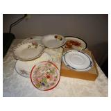 Assorted plates & serving bowls