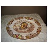 "Turkey platter (Japan) 12"" x 16"""