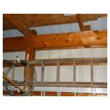 Wood extension ladder 40ft