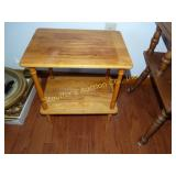 "Wood side table 18"" x 13"" x 20"""