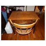 Wood sewing machine table (no machine)