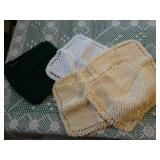 Handmade knitted dish rags (5)