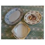 2 Serving platters, England (chip)Windsor ware