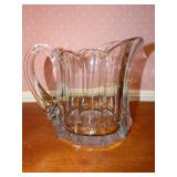 "Heisey  lemonade pitcher, 7""H"