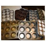 Assorted miffin tins