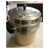 Laurel Aluminum ware Cooking pot with steamer
