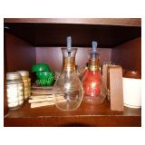 Contents of shelf - Salt and pepper shakers, 2