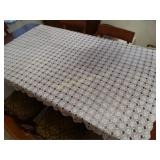 "Crochet table cloth 64"" x 78"""