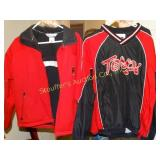 Maryland terps zip up jack and pullover both size