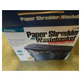 Royal paper shredder in original box