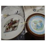 Norman Rockwell & Avon collector plates