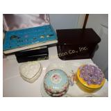 Jewelry boxes & trinket dishes