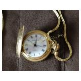 Arnex Time Co 17 jewel ladies pocket watch 12""