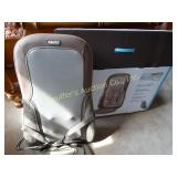 Homedics Quad Shiatsu Massage cushion w/ heat