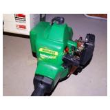"Weedeater gas grass trimmer 10 speed 17"" cut"