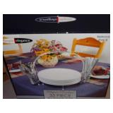 33pc Buffet set:  serv/8 NIB