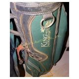 King Cobra golf bag w/10 King Cobra golf clubs &