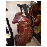 Voit golf bag w/6 golf clubs