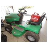 "Sabre 14.5 hp 1-Cohv 38"" mulch riding mower w/"
