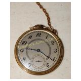 Hamilton pocket watch  17 jewels
