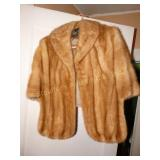 Ladies Fur Shawl Wrap
