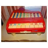 Vintage Fisher Price Toy Piano 1980
