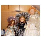 Porcelain Dolls- Show Stoppers, Timeless,
