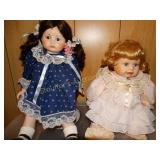 Porcelain Dolls- Dynasty Doll Collection, etc.