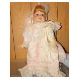 Porcelain Doll- 3 Face Doll