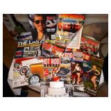 Asst. Car magazines- hot rod, drag racer, etc.