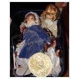 Porcelain Dolls- Emerold Doll Collection, etc. in