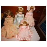 Gorham Doll Collection Musical Porcelain Dolls