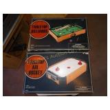 Tabletop Billiards & Air Hockey games NIB