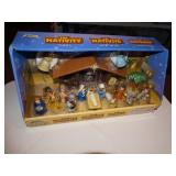 The Nativity Playset NIB